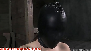 Fetish GIMP Attendant in Chains