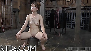 Brutal beating of babe'_s bottom