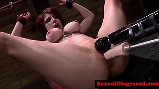 Ginger busty bdsm bondage sub plowedreed[26]