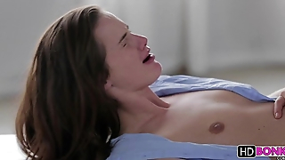 Sweet brunette generalized gets fucked